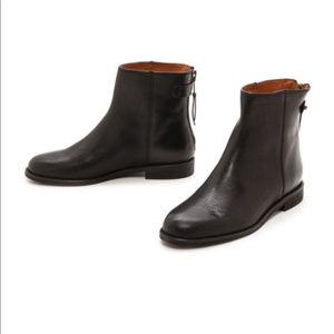 MADEWELL HAYES BLACK LEATHER MOTO BOOTS ~ 8 ~
